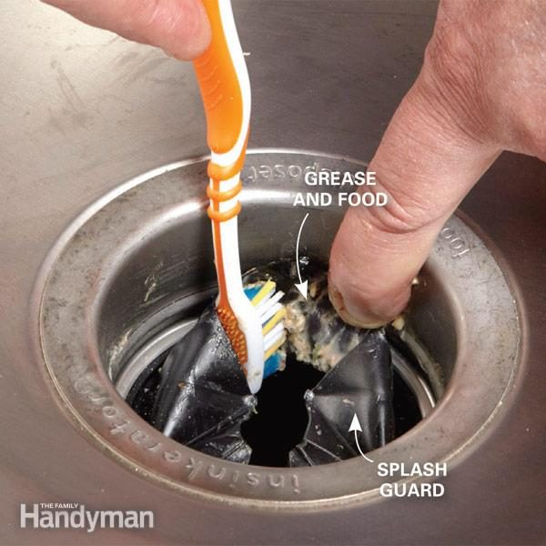 How To Clean Garbage Disposal The Family Handyman