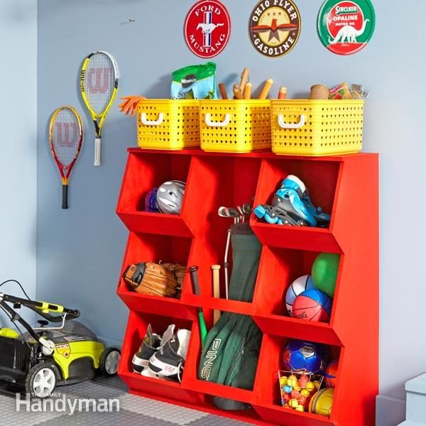 Diy Toy Storage The Family Handyman