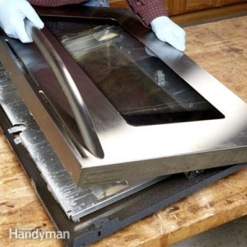 How to Clean Oven Door Glass