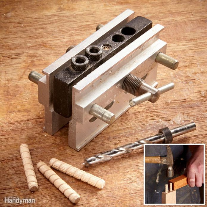 Dowel joints are DIY-friendly