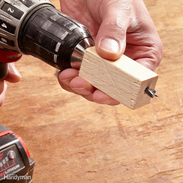 Fail-safe drill stop