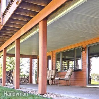 How to Build an Under-Deck Roof