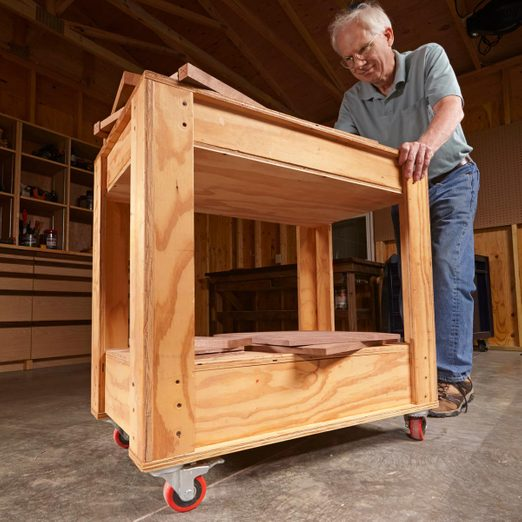 rolling toolbox cart