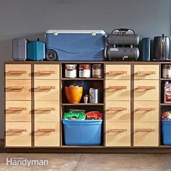 DIY Garage Storage: Super Sturdy Drawers