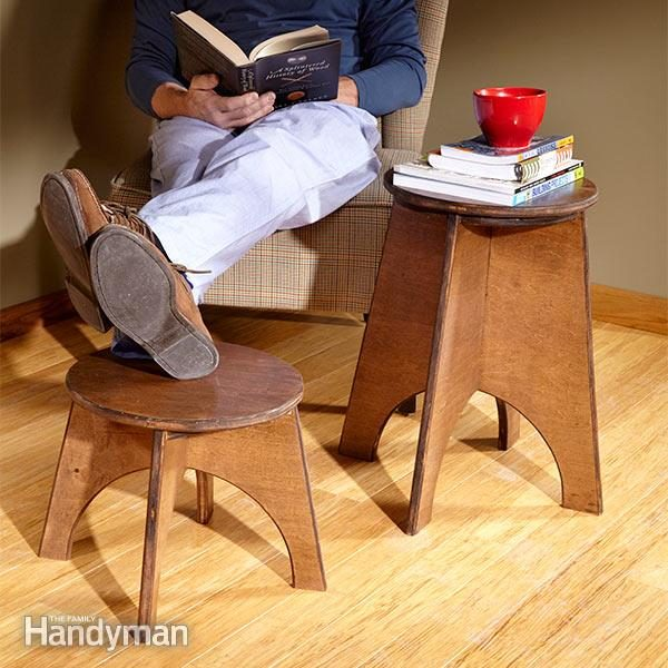 How To Make A Stool With A Jigsaw The Family Handyman