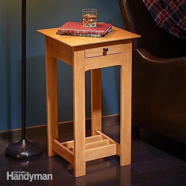 Simple Rennie Mackintosh End Table Plans The Family Handyman