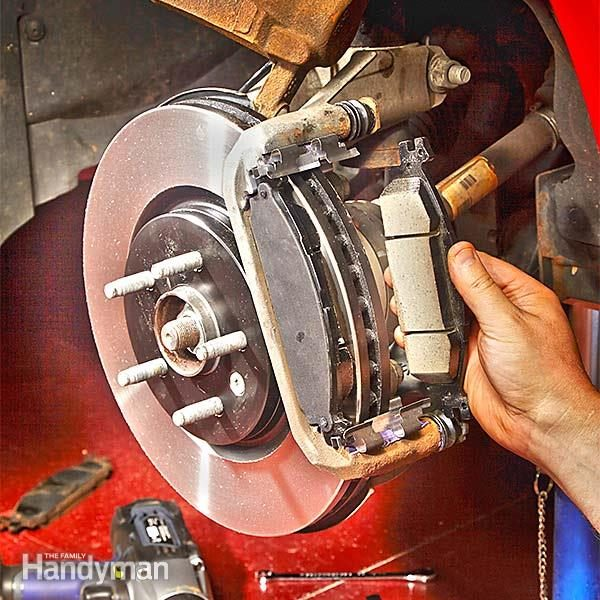 How To Change Brake Pads The Family Handyman