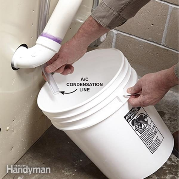 Condensation Pump Installation And Repair The Family