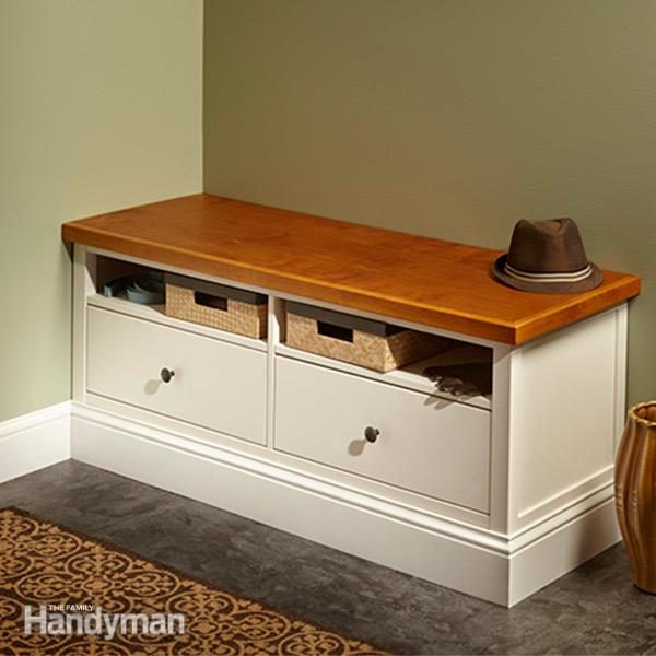 Ikea Hemnes Hack Built In Bench Family Handyman