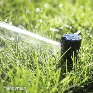 How to Replace a Broken Lawn Sprinkler Head