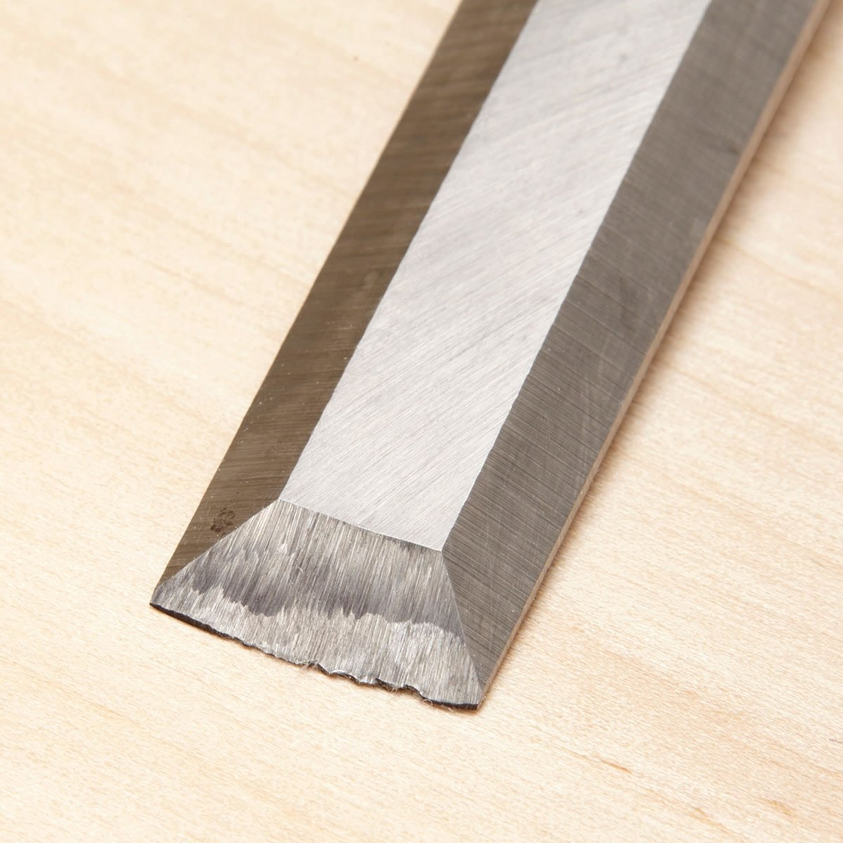 chipped chisel