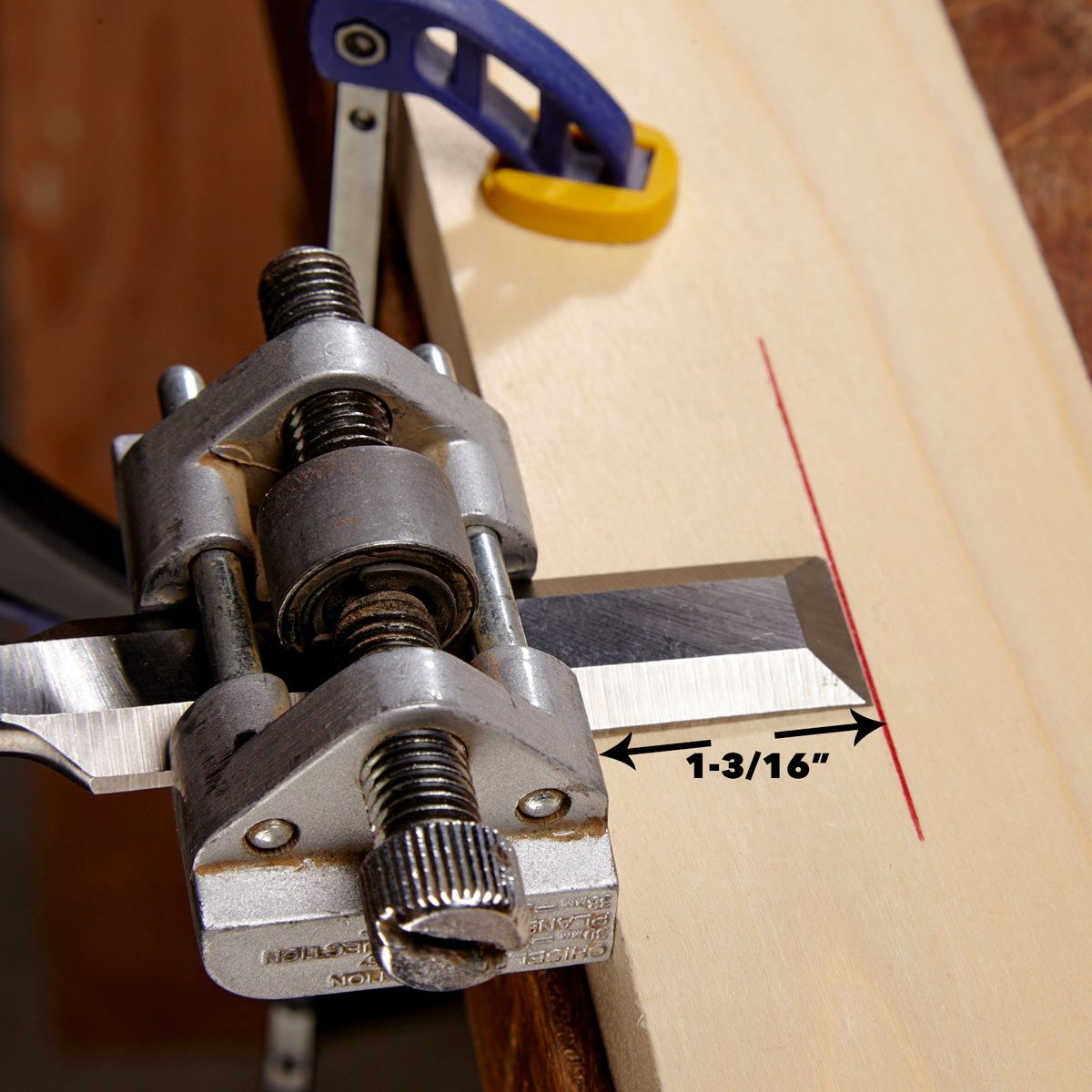 chisel honing angle