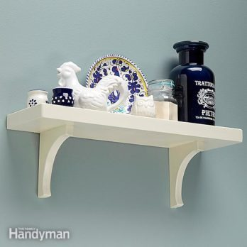 Simple Low-Tech Wall Shelf Plans