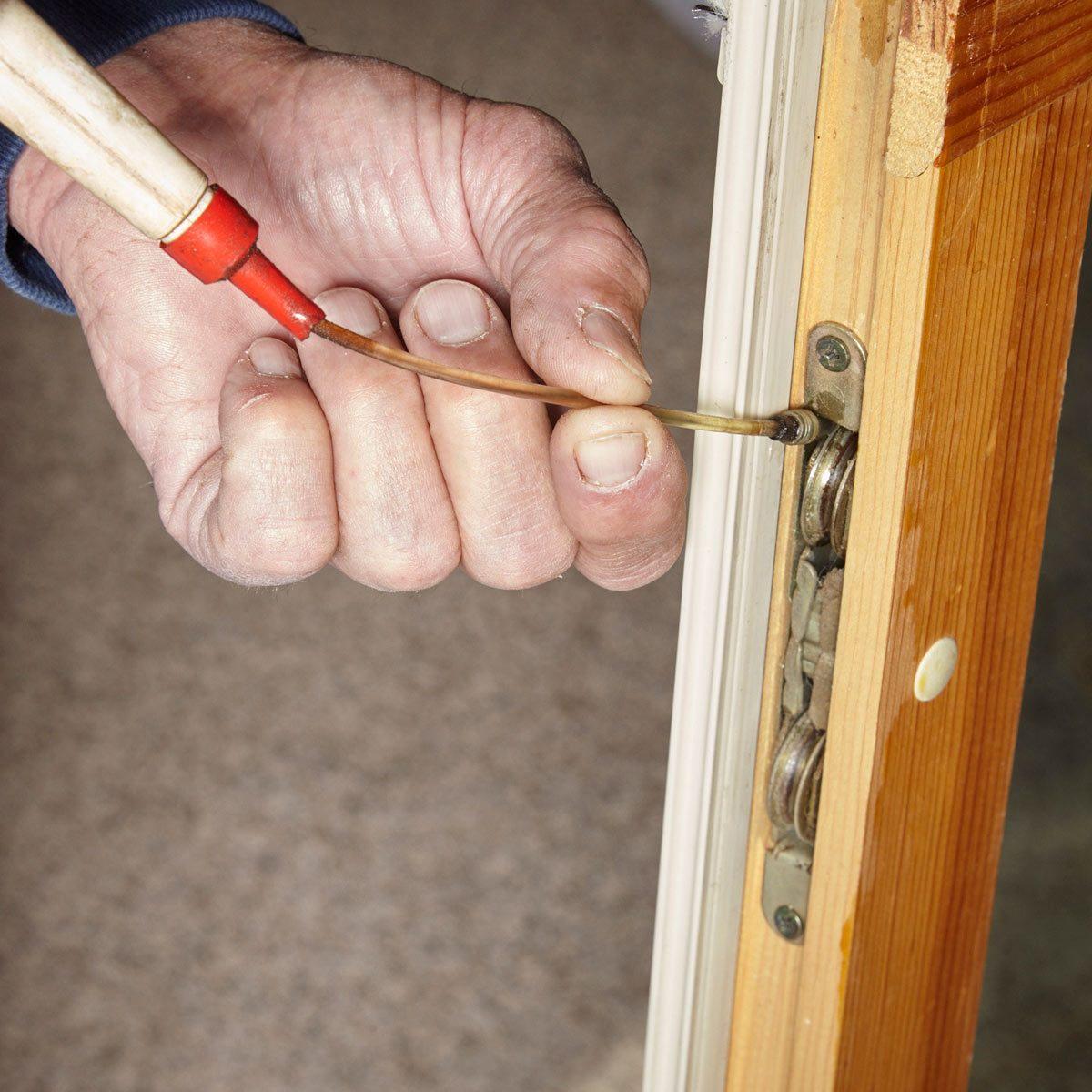 drafty door