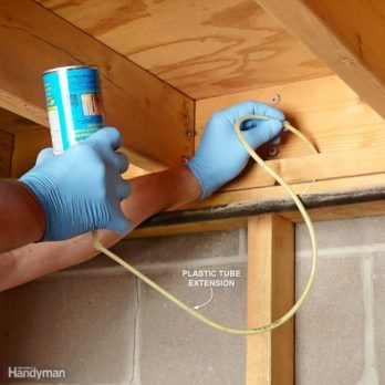 17 Ways to Master Using Spray Foam at Home
