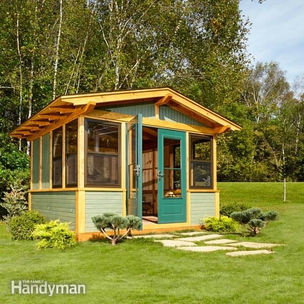 Shed Plans: Storage Shed Plans | The Family Handyman