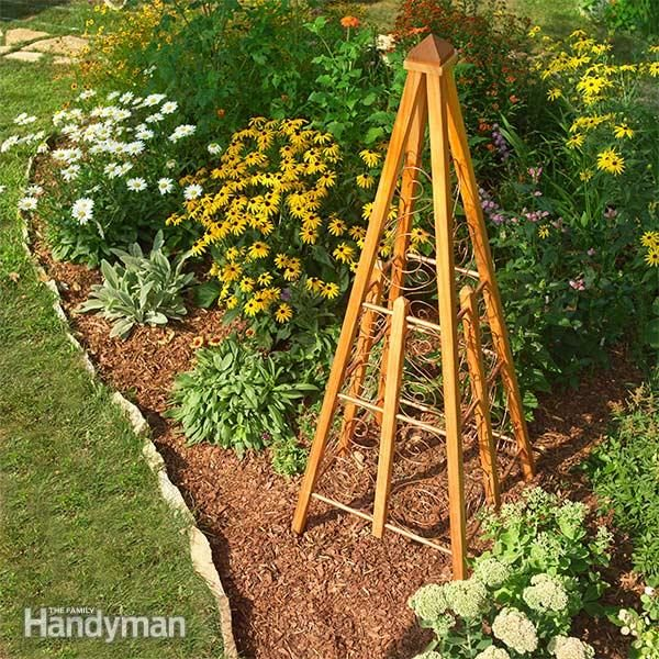 Build This Stunning Trellis Design To Add Flair To Your Garden.