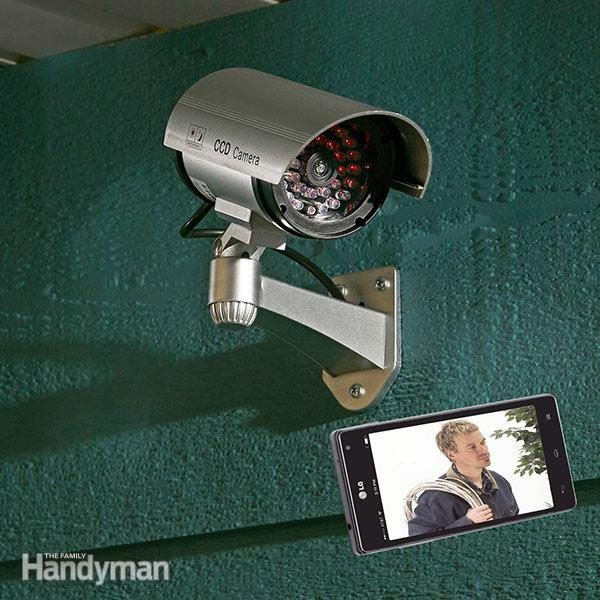 installing a security camera