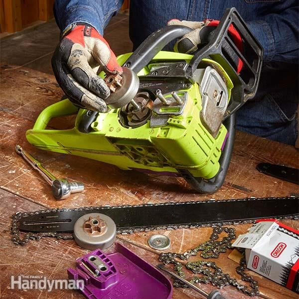 Repair rebuild your own chainsaw diy front end rebuild the fh16maychains01 2 chain saw repair greentooth Choice Image