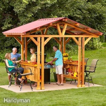 Grill Gazebo Plans: Make a Grillzebo!