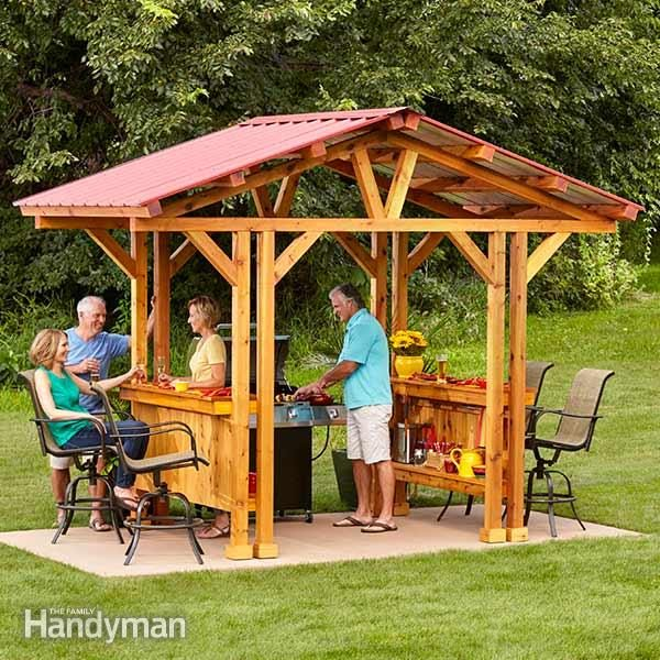 Grill Gazebo Plans Make A Grillzebo The Family Handyman