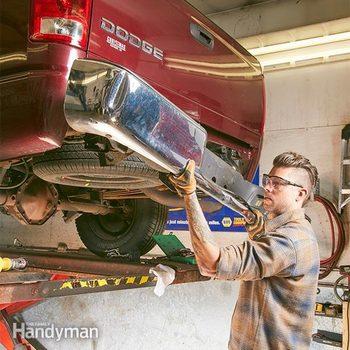 diy pickup bumper replacement