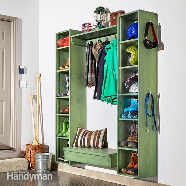 Merveilleux DIY Mudroom Storage Cubby Plans