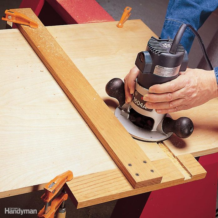 T-square router fence