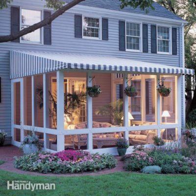 Screened porch how to build a screened in porch