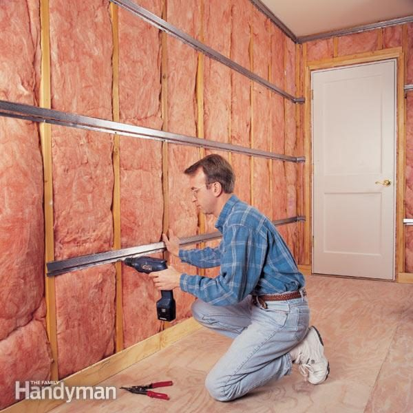 Sound Proof Insulation : How to soundproof a room the family handyman