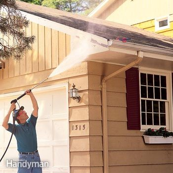 How to pressure wash a house to prep for paint