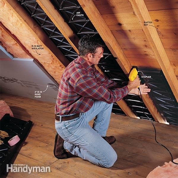 Insulate your finished attic properly & Finishing an Attic | The Family Handyman