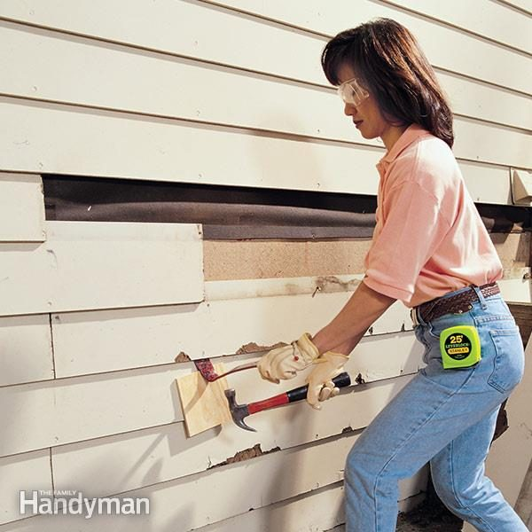 How To Replace And Repair Wood Siding Family Handyman