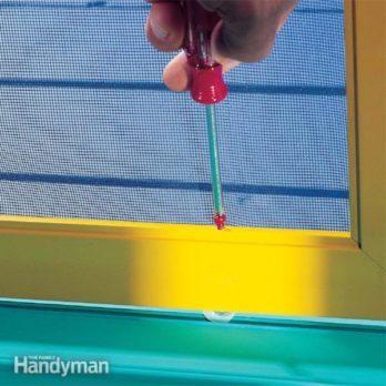 Sliding Screen Door Repair Tips
