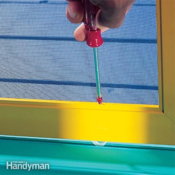 Sliding Screen Door Repair Tips The Family Handyman