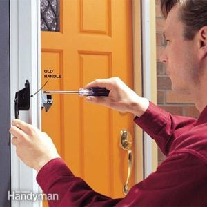How to Fix Your Broken Storm-Door Handles