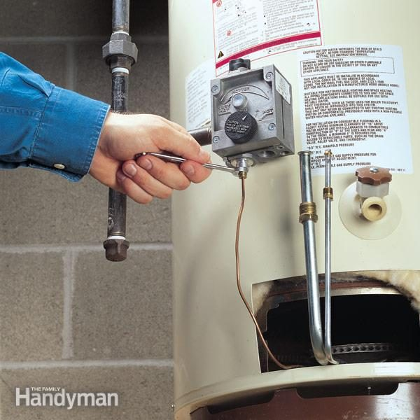 No Hot Water Restore It Yourself The Family Handyman