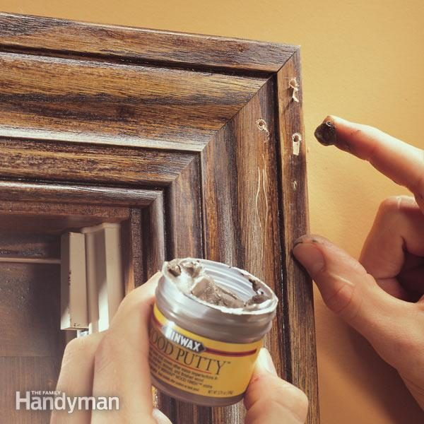 How To Fill Holes In Woodwork How To Fill Nail Holes In Trim