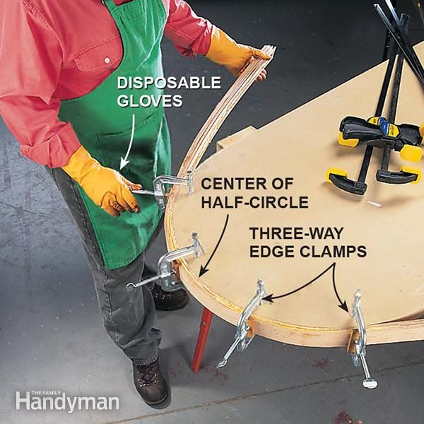 How To Bend Wood The Family Handyman