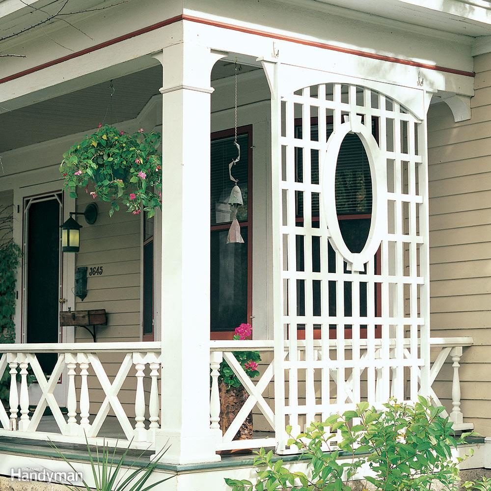Create a Porch Trellis