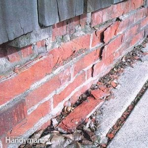 How to Replace Spalling Bricks