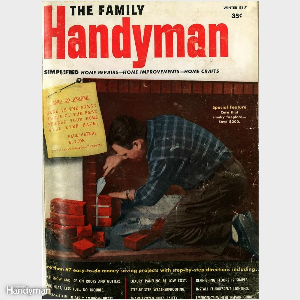 13 Throwback Magazine Covers From The Family Handyman