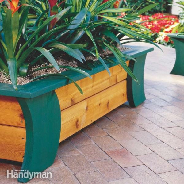 How To Build Patio Planters