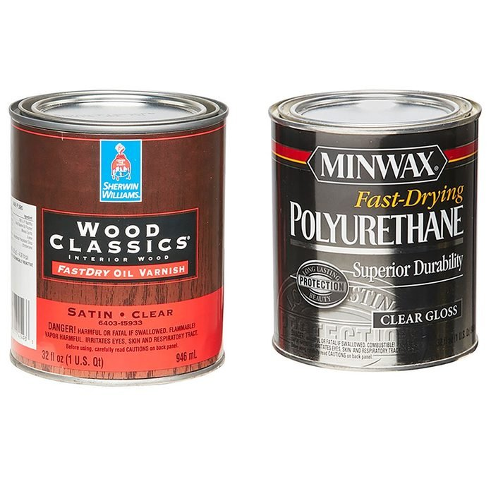A can of varnish vs. a can of poly