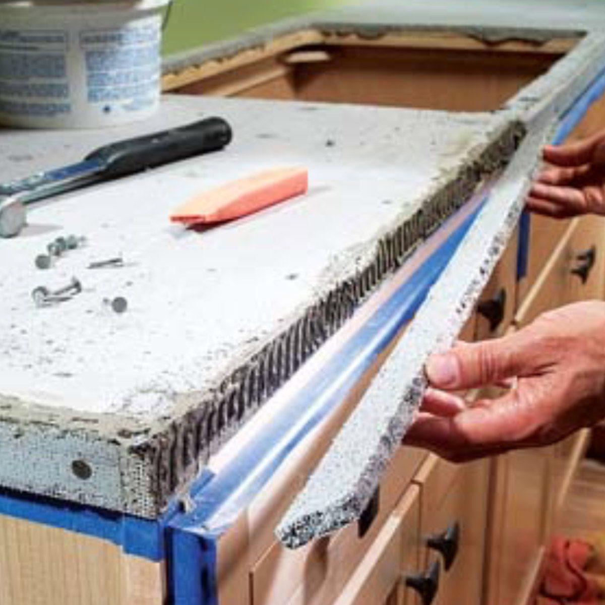 Installing Tile Countertops Ceramic Tile Kitchen