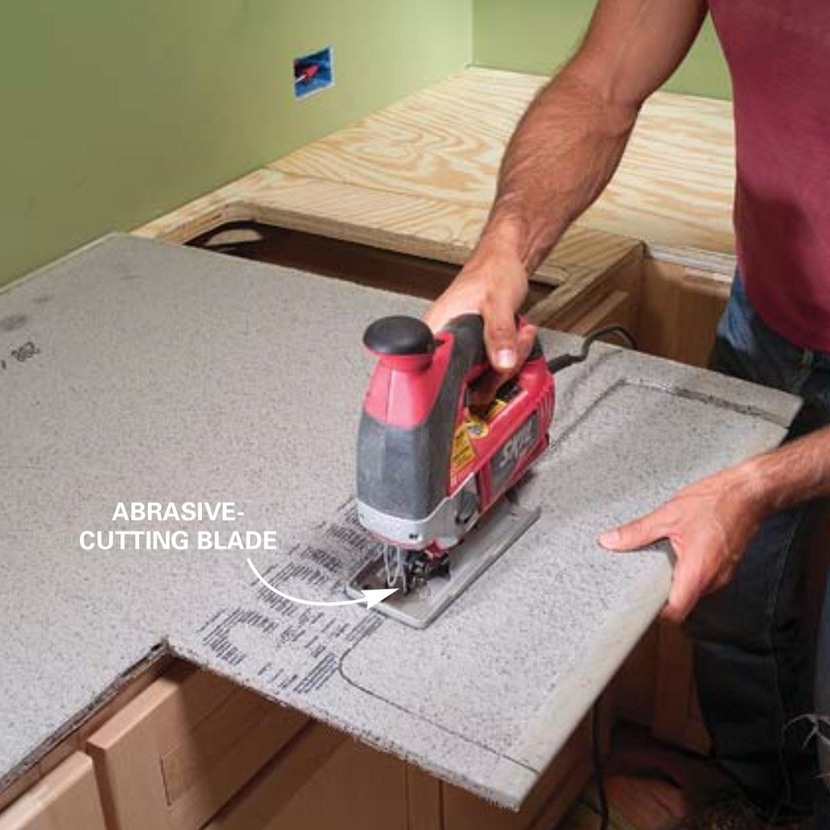 Diy Tile Countertop Removal: Installing Tile Countertops: Ceramic Tile Kitchen