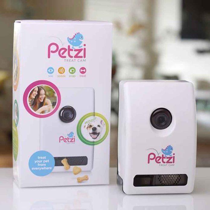 Petzi Treat-Dispensing Camera