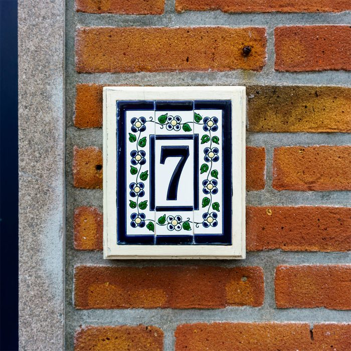 Upgrade House Numbers