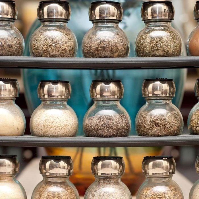 Small Kitchen Spice Storage