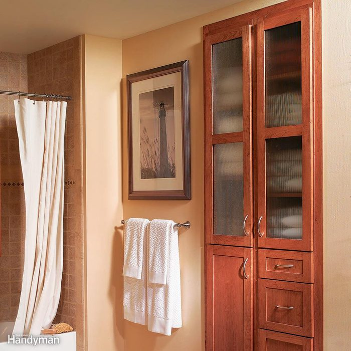 Small Room Ideas: Built-In Storage Cabinet